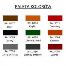 Paleta kolorów - DOMOWO24.PL