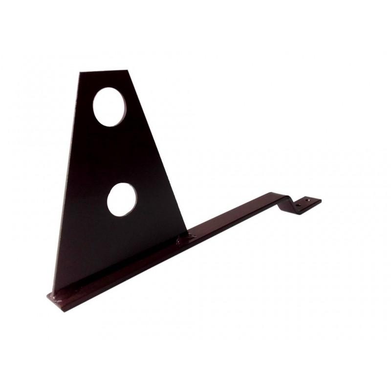 Uchwyt rury przeciwśniegowej śniegołapu dachowego do dachówki betonowej i ceramicznej - DOMOWO24.PL